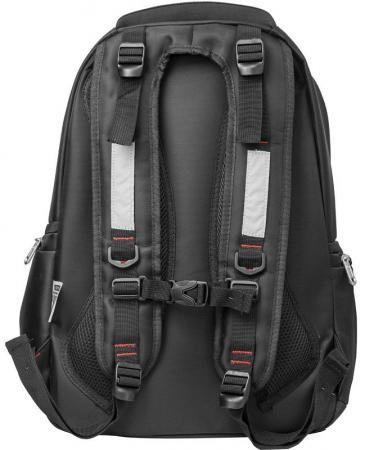 Рюкзак ACTION городской,  отделением для ноутбука, разм. 46х30х15см, черный, унисекс
