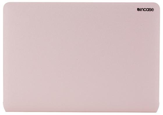 Чехол-накладка Incase Snap Jacket для ноутбука Apple MacBook Air 13. Материал полиуретан. Цвет розо