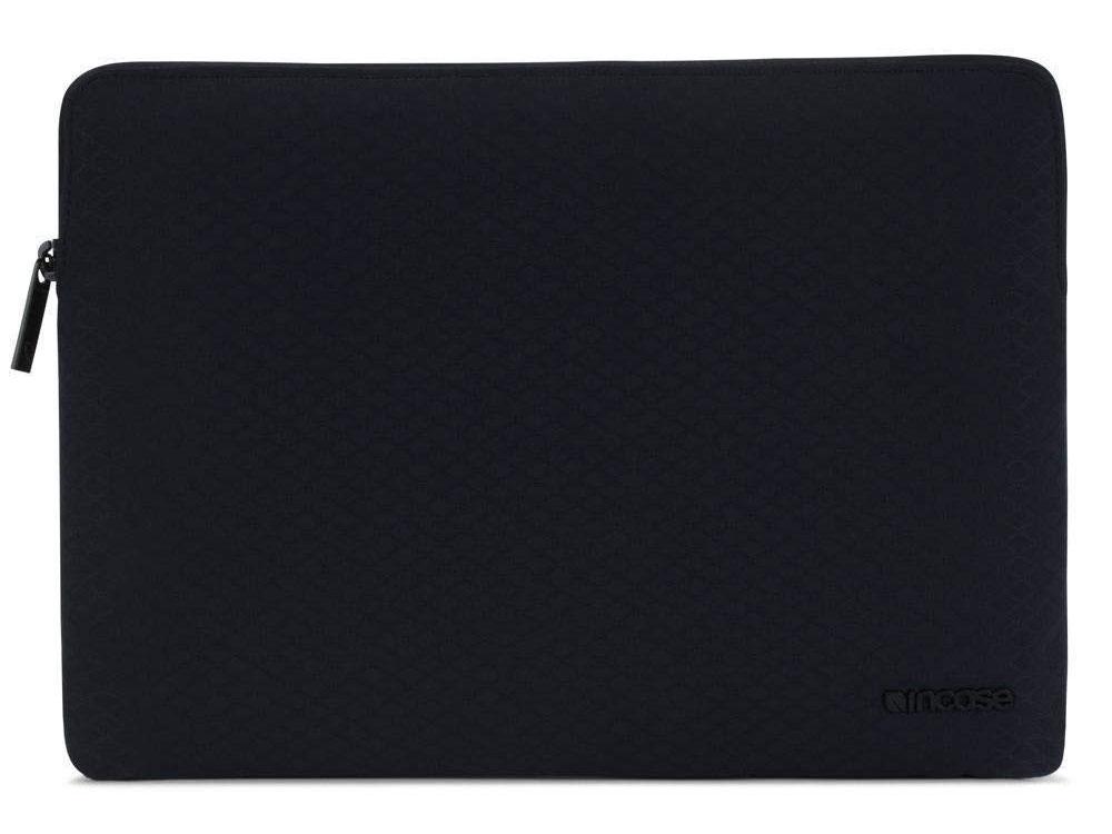 Чехол Incase Slim Sleeve with Diamond Ripstop для ноутбука Apple MacBook 12. Материал полиэстер. Цвет черный