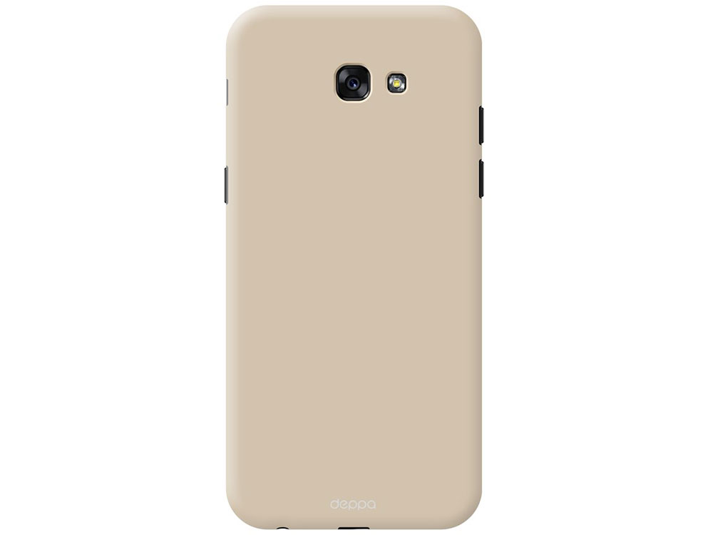 Чехол Deppa Чехол Air Case для Samsung Galaxy A7(2017), золотой, Deppa аксессуар чехол для samsung galaxy a7 2017 aksberry air case pink