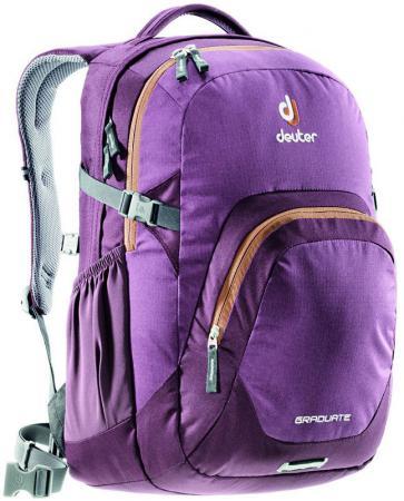 Городской рюкзак с отделением для ноутбука Deuter Graduate 28 л черничный 80232-5607 цена