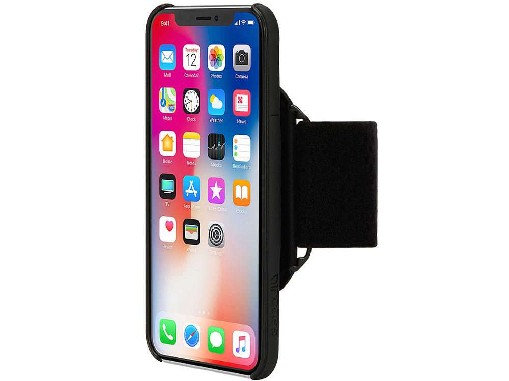 Спортивный чехол Incase Armband Pro для iPhone X чёрный INPH190384-BLK universal stylish waterproof bag with sport armband for iphone cell phone white black