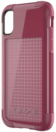 купить Накладка Griffin Survivor Fit для iPhone X красный TA43983 по цене 902 рублей