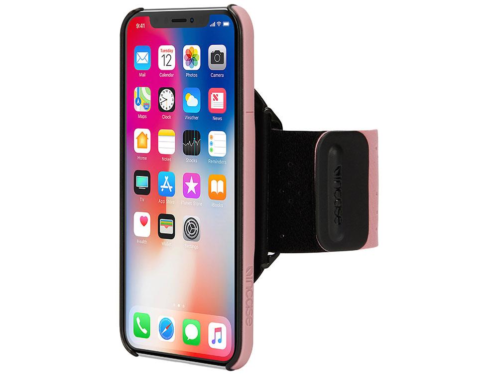 Спортивный чехол Incase Armband Pro для iPhone X INPH190384-MAU universal stylish waterproof bag with sport armband for iphone cell phone white black