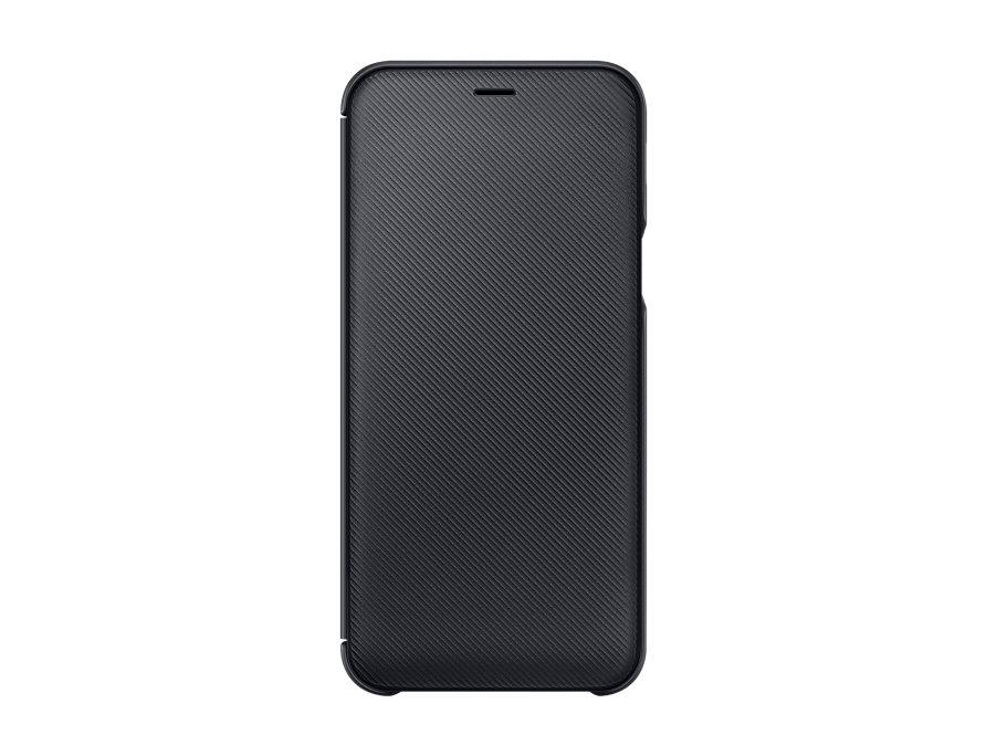 Чехол (флип-кейс) Samsung для  GALAXY A6 (2018) Wallet Cover черный (EF-WA600CBEGRU)