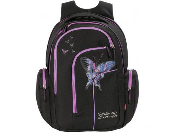 Рюкзак 4YOU Move Бабочка 28 л черный 141900-726 рюкзак детский 4you 4you рюкзак jampaс ананасы