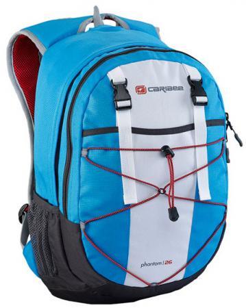 Рюкзак с анатомической спинкой Caribee Phantom 26 л синий 61022 рюкзак с анатомической спинкой caribee x trek 28 28 л синий желтый 63821