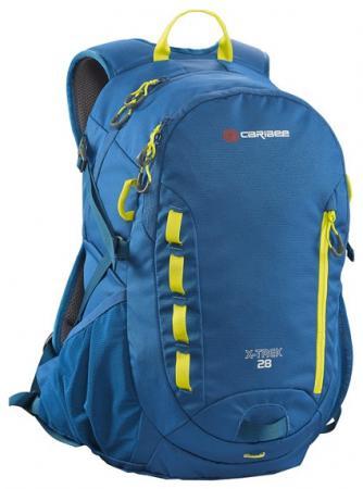 Рюкзак с анатомической спинкой Caribee X-trek 28 28 л синий желтый 63821 рюкзак bestway 68030 65 л dura trek красный