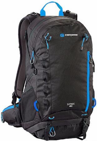 Рюкзак с анатомической спинкой CARIBEE X-trek 40 л черный синий рюкзак bestway 68030 65 л dura trek красный