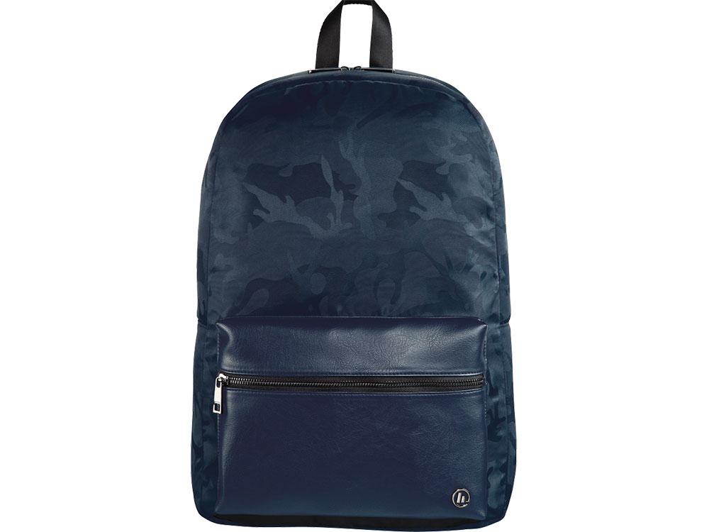 Рюкзак для ноутбука 14 Hama Mission Camo синий/камуфляж полиэстер (00101843) рюкзак hama sweet owl pink blue
