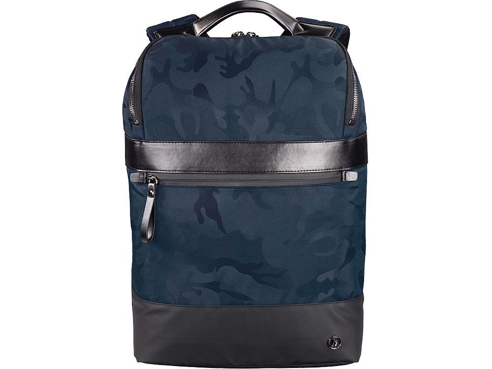Рюкзак для ноутбука 15.6 Hama Camo Select синий/камуфляж полиэстер (00101845) рюкзак hama camo select 15 6 черный камуфляж