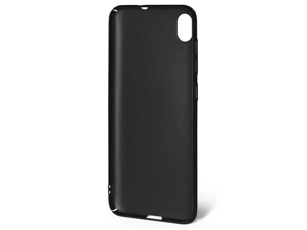 Чехол soft-touch для Asus Zenfone Live (L1) (ZA550 KL) DF aSlim-21 (black) цена 2017