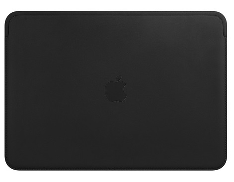 Чехол-книжка для MacBook Air 13 Apple Leather Sleeve Black флип, кожа чехол uniq для apple macbook pro 13 black