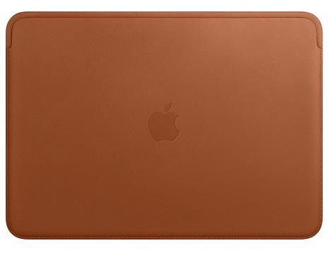 Чехол Apple Leather Sleeve для MacBook Pro Retina 15 золотисто-коричневый MRQV2ZM/A сумка cozistyle aria smart sleeve macbook 15 pro retina lily white