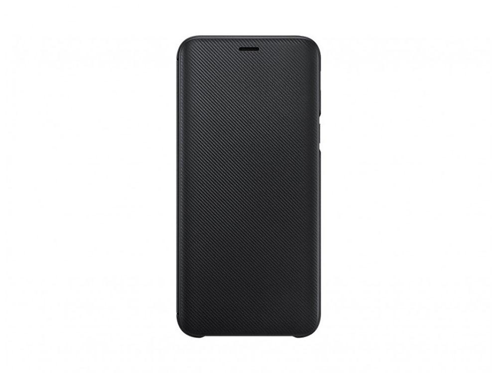 Чехол (флип-кейс) Samsung для  Galaxy J6 (2018) Wallet Cover черный (EF-WJ600CBEGRU)