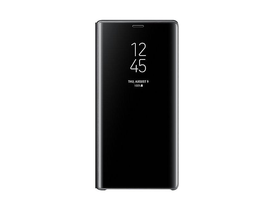 Чехол (флип-кейс) Samsung для Samsung Galaxy Note 9 Clear View Standing Cover черный (EF-ZN960CBEGRU чехол флип кейс samsung clear view standing cover great для samsung galaxy note 8 золотистый [ef zn950cfegru]
