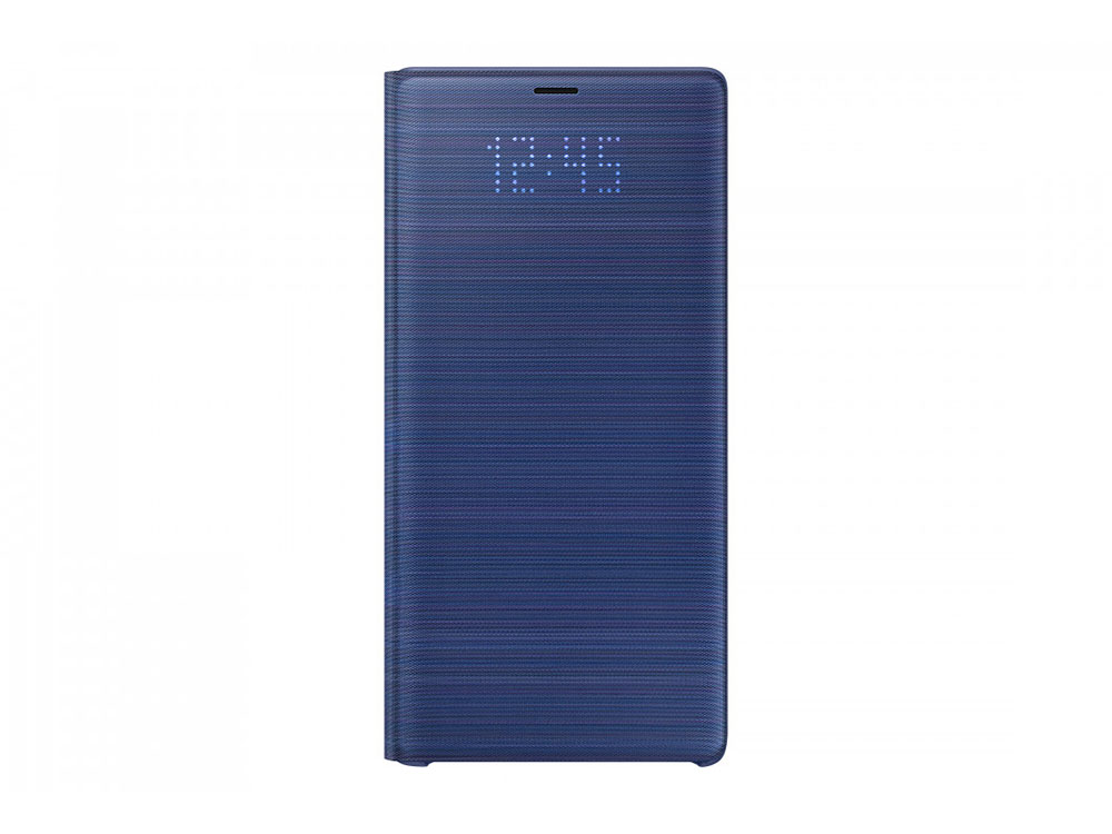 Чехол (флип-кейс) Samsung для Samsung Galaxy Note 9 LED View Cover синий (EF-NN960PLEGRU) чехол флип кейс samsung для samsung galaxy s9 led view cover синий ef ng965plegru