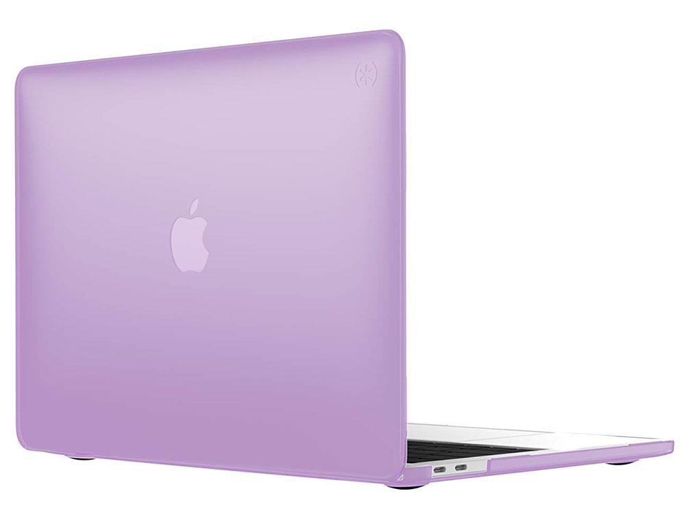 "Чехол-накладка Speck SmartShell для ноутбука MacBook Pro 13"" с Touch Bar. Материал пластик. Цвет: фи чехол накладка для ноутбука macbook pro 13 speck smartshell пластик розовый 90206 6011"