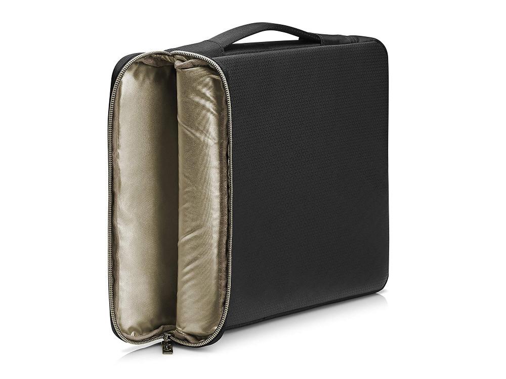 все цены на Чехол HP 15 Blk/Gold Carry Sleeve (3XD35AA)