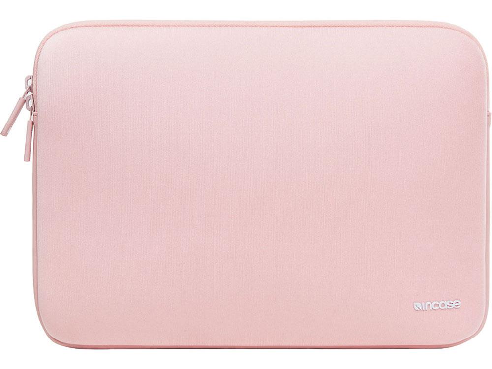 Чехол Incase Classic Sleeve для ноутбуков Apple MacBook 12. Материал нейлон. Цвет розовый. чехол incase classic sleeve для ноутбука apple macbook 11 дюймов материал неопрен цвет темно зеленый