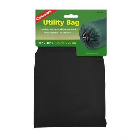 COGHLANS 8230black Нейлоновый мешок для вещей 35,5 х 76 см. Чёрный нейлоновый мешок coghlans 8319 сетка 48х58см