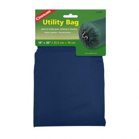 COGHLANS 8230blue Нейлоновый мешок для вещей 35,5 х 76 см. Синий нейлоновый мешок coghlans 8319 сетка 48х58см