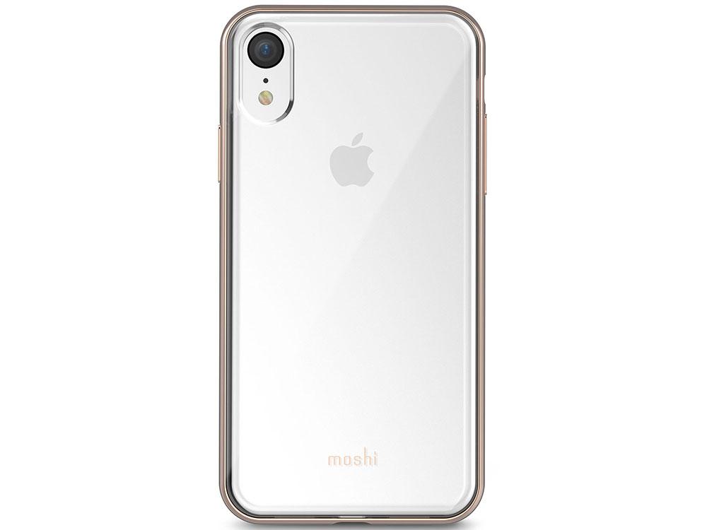 Чехол-накладка Moshi Vitros для iPhone XR Gold клип-кейс, пластик цена