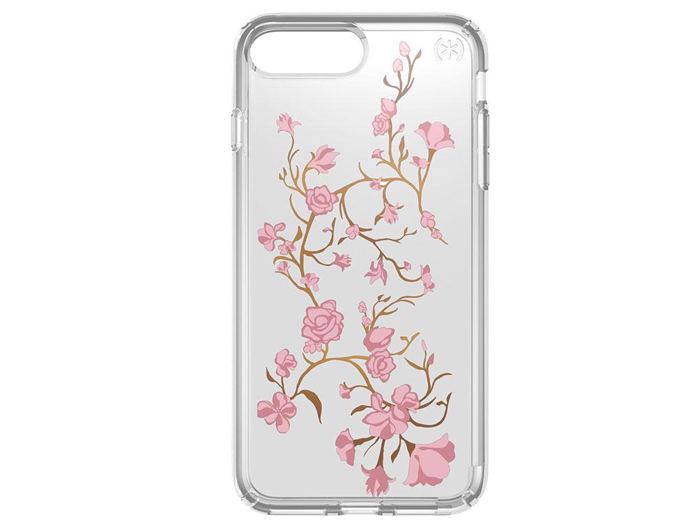 Чехол Speck Presidio Clear + Print для iPhone 8/7/6S/6 Plus. Материал пластик. Дизайн Golden Blossom phasat jh 205 modern dual plum blossom handle sink faucet water tap golden