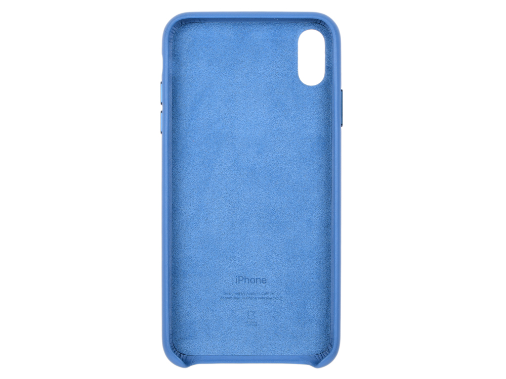 Чехол для iPhone XS Max Leather Case - Cape Cod Blue (MTEW2ZM/A) раковина duravit cape cod 2340460000