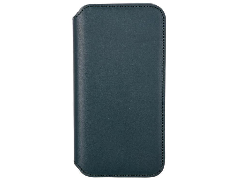 Чехол для iPhone XS Leather Folio - Forest Green (MRWY2ZM/A) аксессуар чехол apple iphone xs leather folio peony pink mrx12zm a