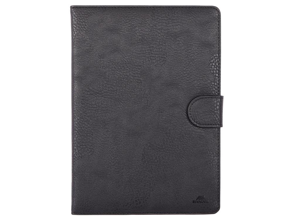 Чехол-книжка универсальный 10.1 RIVACASE 3017 black флип, полиуретан