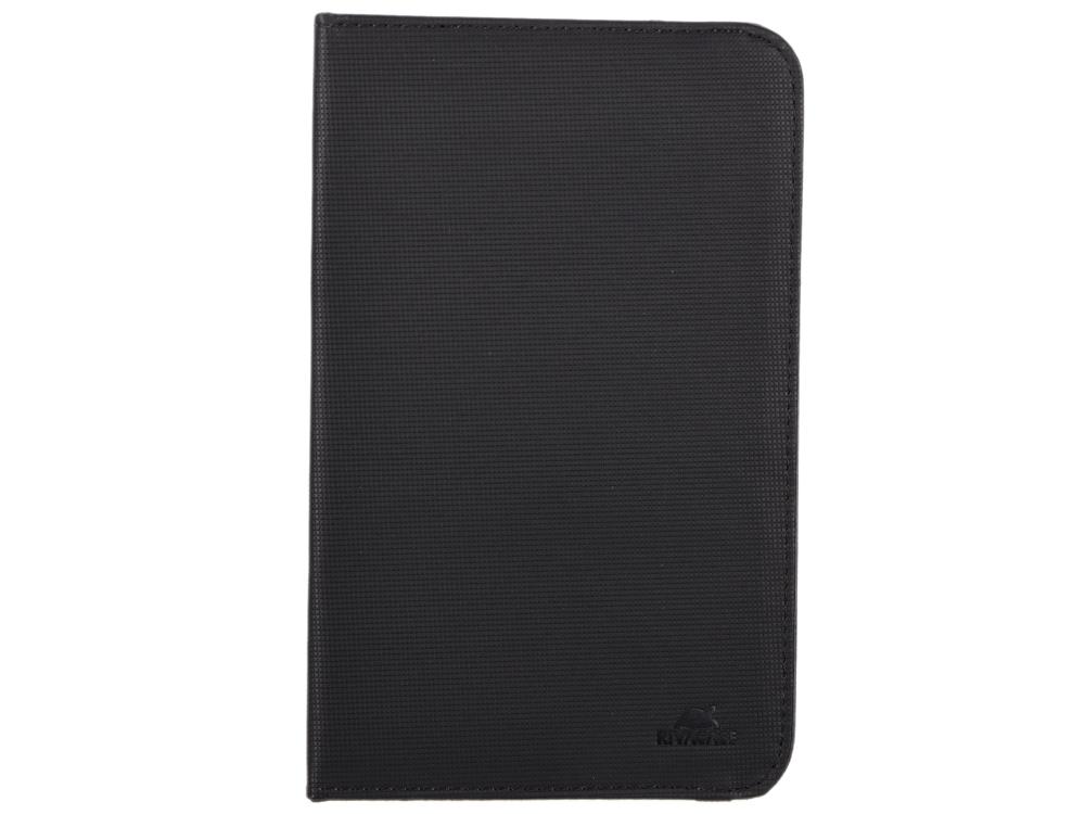 Чехол-книжка универсальный 7 RIVACASE 3212 Black флип, полиуретан