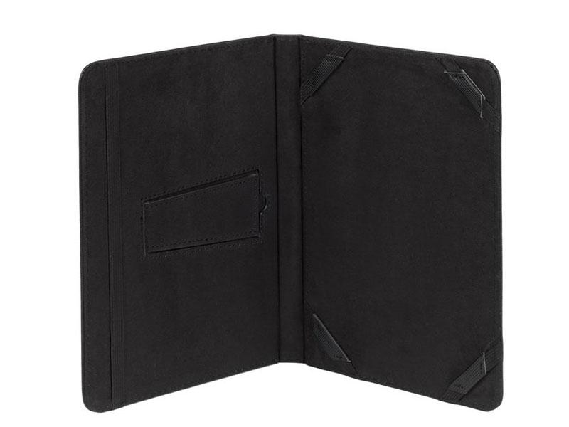 Чехол-книжка универсальный 8 RIVACASE 3214 Black флип, полиуретан