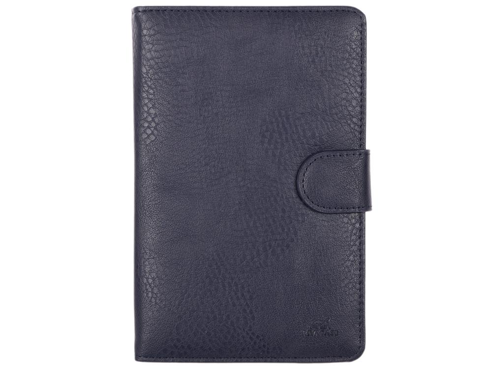 Чехол-книжка универсальный 7 RIVACASE 3012 Blue флип, полиуретан