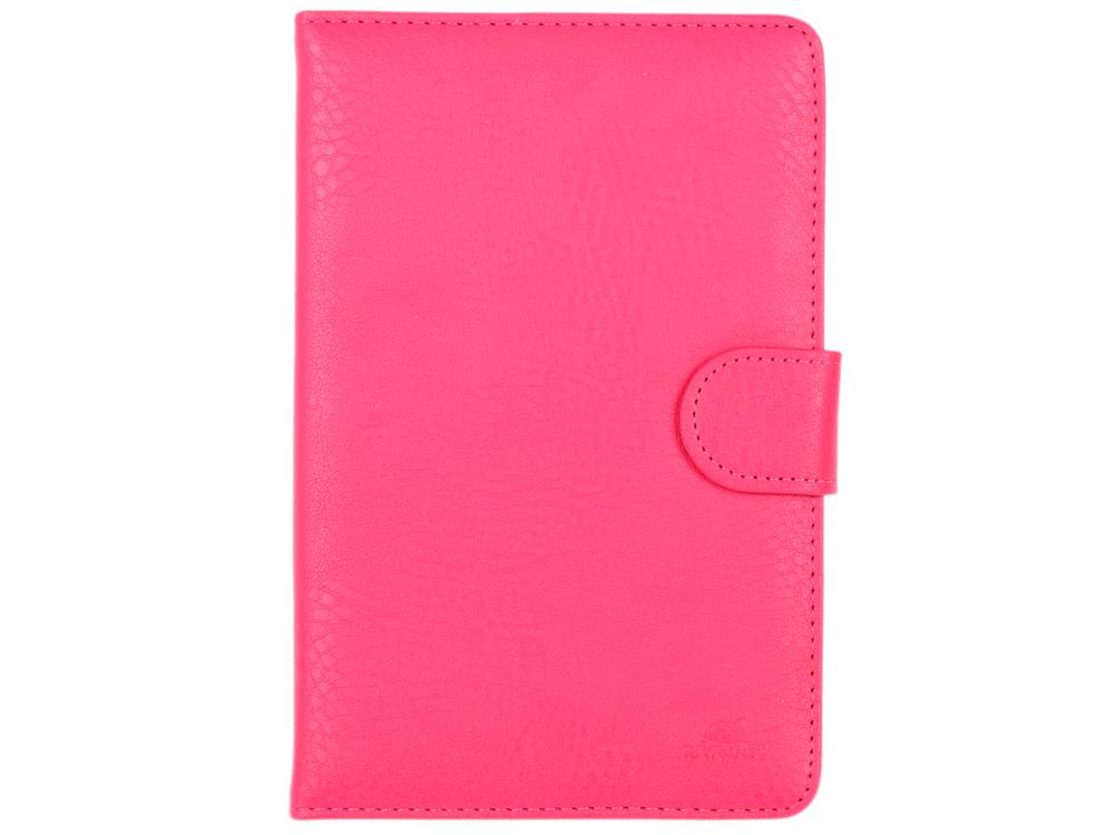 Чехол-книжка универсальный 7 RIVACASE 3012 Pink флип, полиуретан