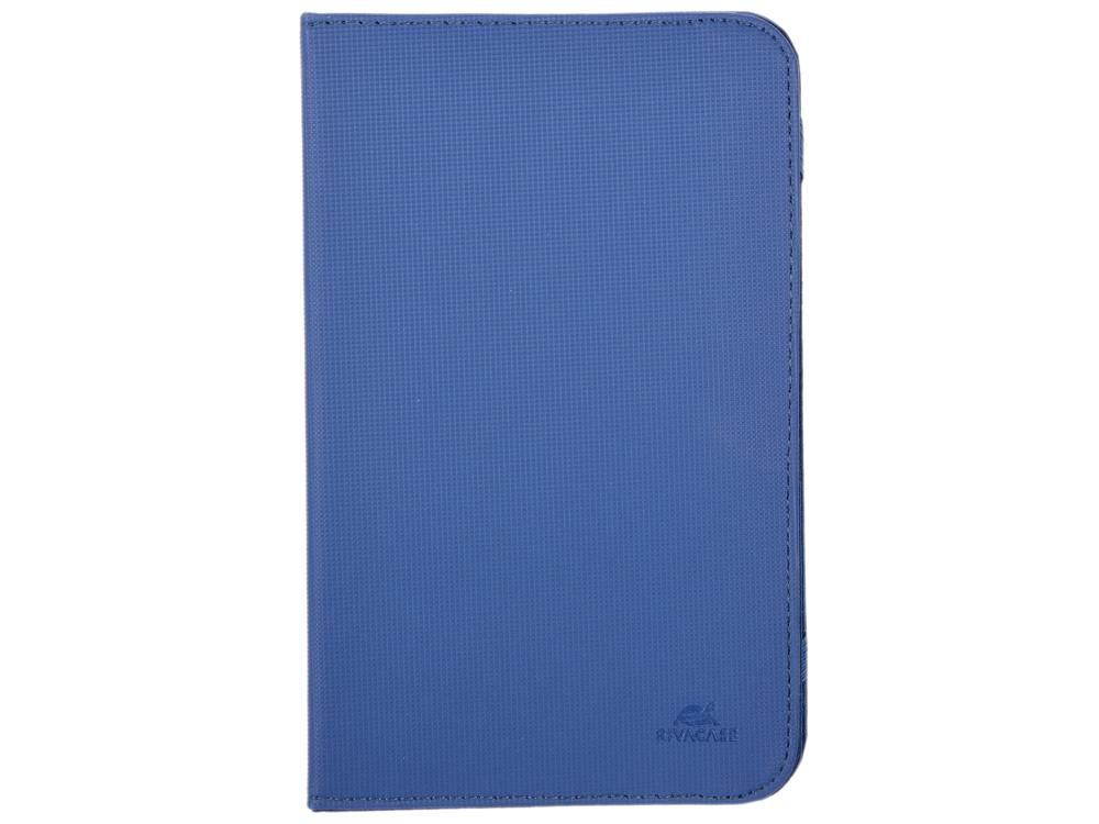 Чехол-книжка универсальный 7 RIVACASE 3212 Blue флип, полиуретан