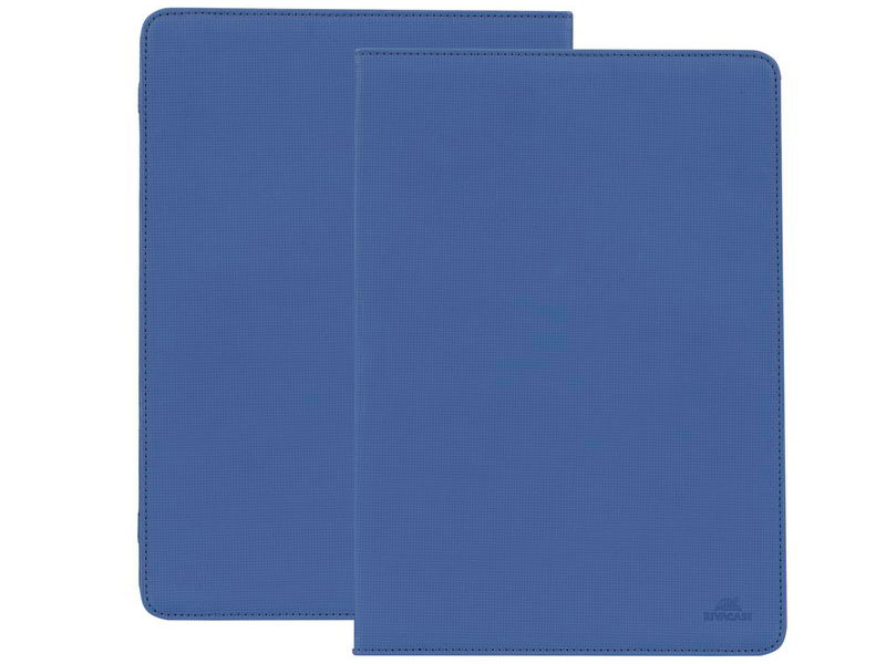 Чехол-книжка универсальный 10.1 RIVACASE 3217 Blue флип, полиуретан