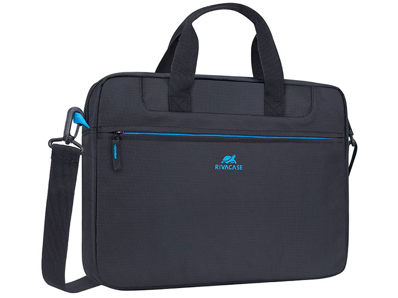 Сумка для ноутбука 15.6 RivaCase 8037 black аксессуар сумка 15 6 rivacase 8730 grey