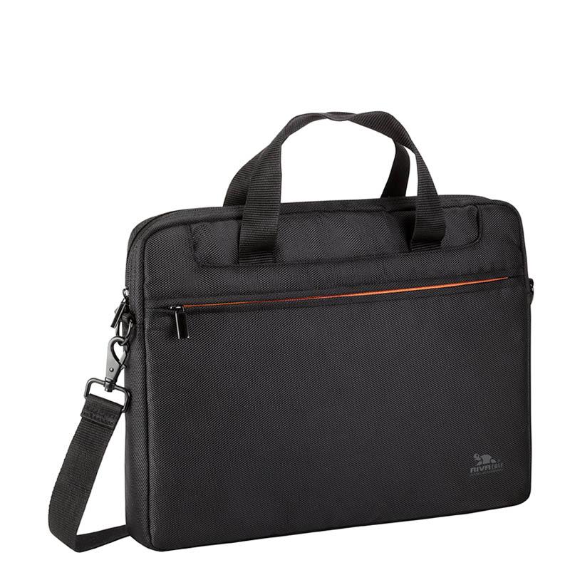 Сумка для ноутбука 13.3 RivaCase 8023 black аксессуар сумка 15 6 rivacase 8730 grey