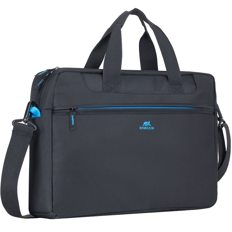 Сумка для ноутбука 16 RivaCase 8057 black аксессуар сумка 15 6 rivacase 8730 grey