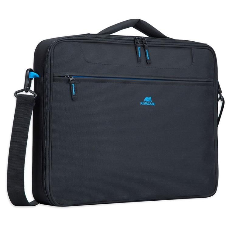Сумка для ноутбука 16 RivaCase 8087 black аксессуар сумка 15 6 rivacase 8730 grey