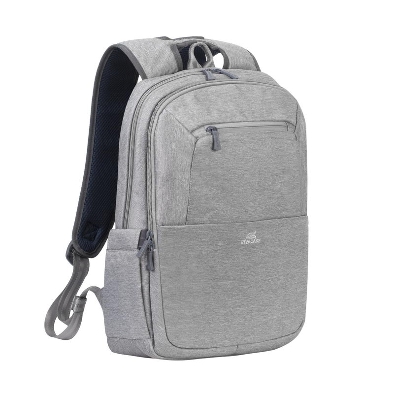 Рюкзак для ноутбука 15.6 RivaCase 7760 grey аксессуар сумка 15 6 rivacase 8730 grey