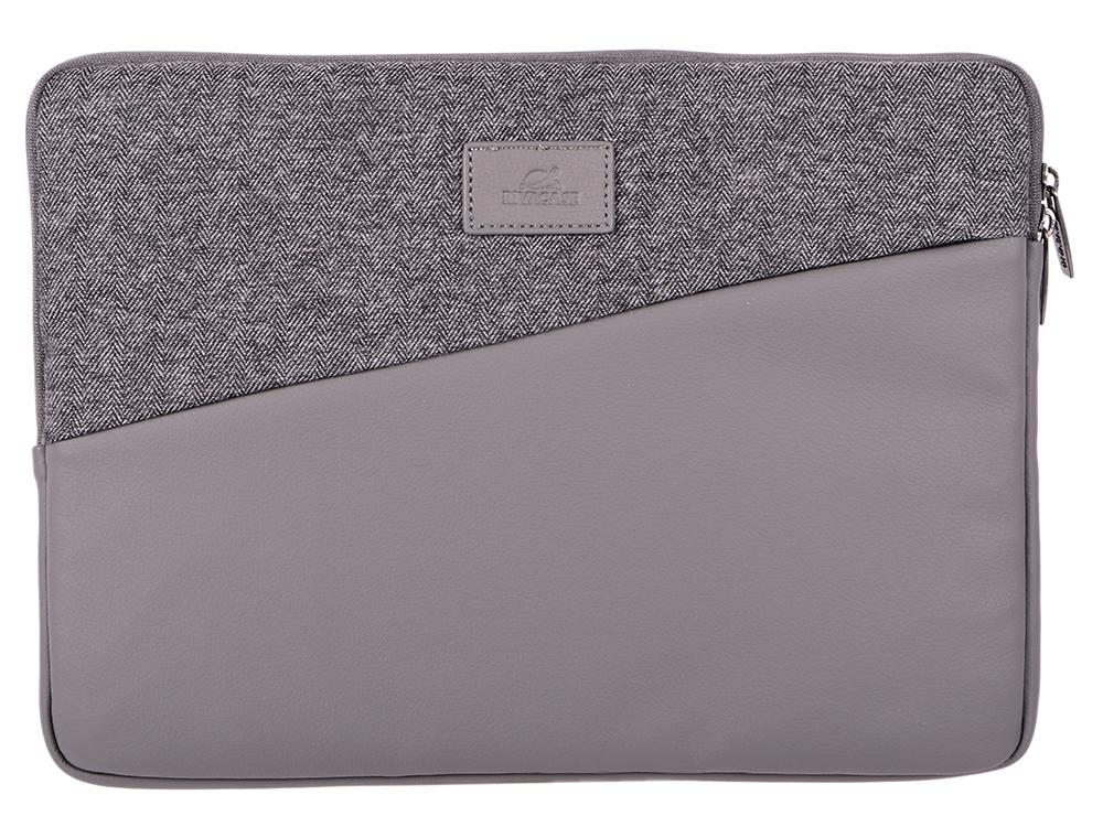 Чехол для ноутбука 13.3 RivaCase 7903 grey сумка для ноутбука inter step сириус grey