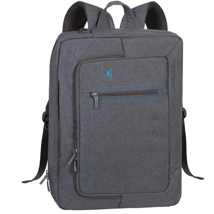 Сумка-трансформер для ноутбука 16 RivaCase 7590 grey аксессуар сумка 16 rivacase 7590 grey