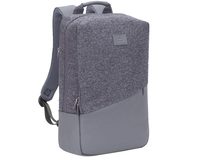 Рюкзак для ноутбука 15 RivaCase 7960 grey аксессуар сумка 15 6 rivacase 8730 grey