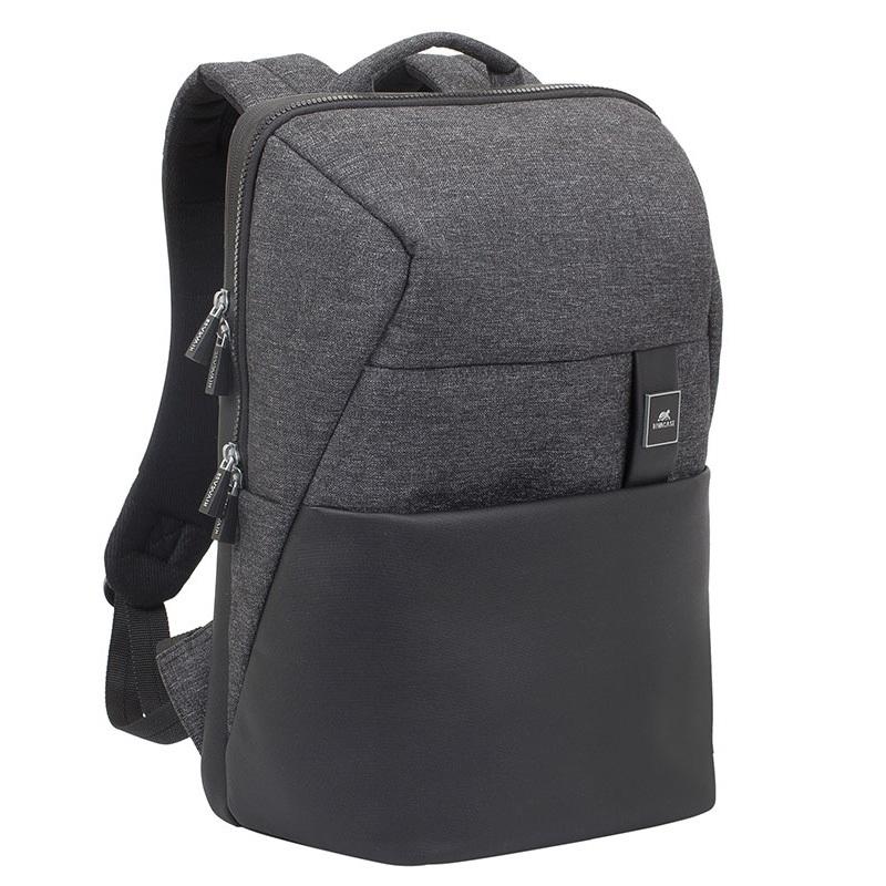 255a4f246ca2 Рюкзак для ноутбука 15.6 RIVACASE 8861 black m?lange рюкзак для ноутбука  rivacase 7590 gray
