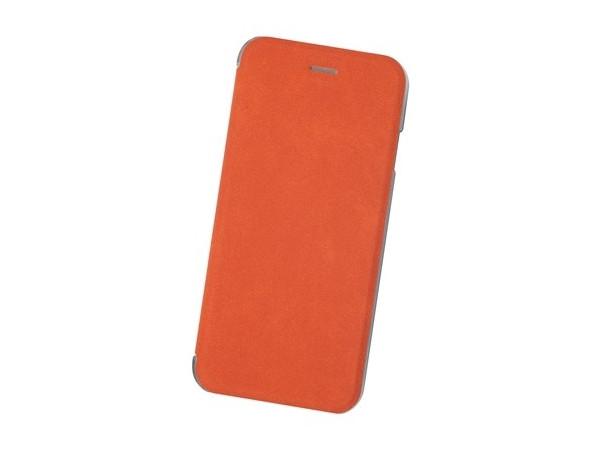 Чехол Book Case для IPhone 6/7/8, экозамша, терракотовый, BoraSCO 360 degree rotating protective litchi pattern case w stand for google nexus 7 ii chocolate