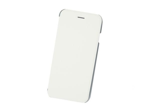 Чехол-книжка для IPhone 6/7/8 BoraSCO Book Case White флип, кожзаменитель, пластик аксессуар чехол флип micromax e313 canvas xpress 2 gecko white gg f mice313 wh