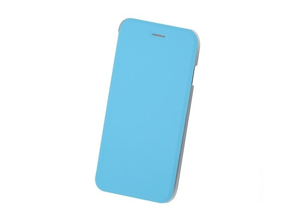 Чехол-книжка для IPhone 6/7/8 BoraSCO Book Case Blue флип, кожзаменитель, пластик ikki ultra thin protective 0 2mm pp back case for iphone 6 4 7 translucent white