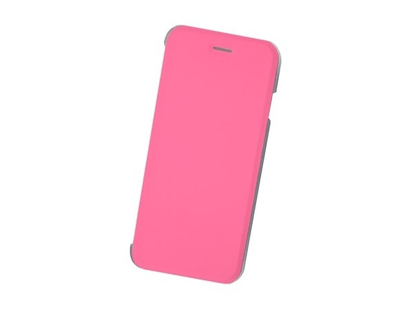 Чехол-книжка для IPhone 6/7/8 BoraSCO Book Case Pink флип, кожзаменитель, пластик ikki ultra thin protective 0 2mm pp back case for iphone 6 4 7 translucent white